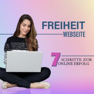 Freiheit Webseite Videokurs